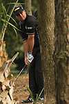 21 March 2010:  Kenny Perry tries to get out of trouble on the 5th hole of the final round at the Transitions Championship Tournament at Innisbrook Golf Resort in Palm Harbor, Florida.