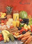 Interlitho, Helga, STILL LIFES, photos, fruit, juice, bread(KL16103,#I#) Stilleben, naturaleza muerta