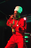 Donald Manning.<br /> Member of the Jamaican roots reggae group, the Abyssinians.<br /> The Drum Cultural Centre, Birmingham, England, March 2005.