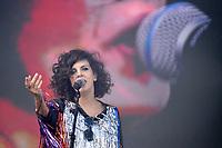 SÃO PAULO,SP, 26.03.2017 - LOLLAPALOOZA 2017 – Cantora Céu se apresenta no festival Lollapalooza 2017, realizado no Autódromo de Interlagos em São Paulo, na tarde deste domingo, 26. (Foto: Levi Bianco/Brazil Photo Press)