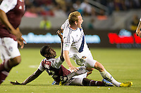 The LA Galaxy defeated the Colorado Rapids 1-0 during a Major League Soccer (MLS) match at Home Depot Center stadium in Carson, California on Saturday March 23, 2013.