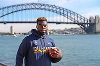 SYDNEY, AUSTRALIA - August 23, 2016:  Cal Bears Football team Australia trip.