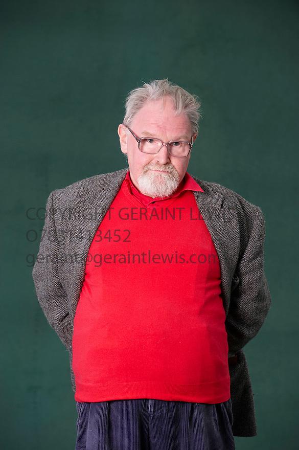 Alasdair Gray,Scottish Writer and Author  at The Edinburgh International Book Festival 2010  Credit Geraint Lewis