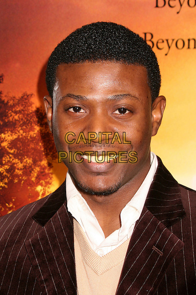 "EDWIN MORROW.""Stomp The Yard"" Los Angeles Premiere at Arclight Cinemas, Hollywood, California, USA, 8 January 2007..portrait headshot.CAP/ADM/BP.©Byron Purvis/AdMedia/Capital Pictures."