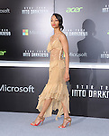 "Zoe Saldana at Paramount Pictures' Premiere of  ""Star Trek Into Darkness"" held at The Dolby Theater in Hollywood, California on May 14,2013                                                                   Copyright 2013 Hollywood Press Agency"