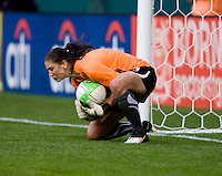Hope Solo. The Washington Freedom defeated the Saint Louis Athletica, 3-1.