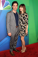 NEW YORK CITY, NY, USA - MAY 12: Ben Feldman, Cristin Milioti at the 2014 NBC Upfront Presentation held at the Jacob K. Javits Convention Center on May 12, 2014 in New York City, New York, United States. (Photo by Celebrity Monitor)
