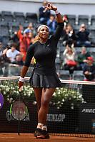 Serena William of United States reacts during the match won against Rebecca Peterson of Sweden <br /> Roma 13/05/2019 Foro Italico  <br /> Internazionali BNL D'Italia Italian Open <br /> Foto Andrea Staccioli / Insidefoto