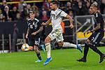 09.10.2019, Signal Iduna Park, Dortmund, GER, FSP, LS, Deutschland (GER) vs Argentinien (ARG)<br /> <br /> DFB REGULATIONS PROHIBIT ANY USE OF PHOTOGRAPHS AS IMAGE SEQUENCES AND/OR QUASI-VIDEO.<br /> <br /> im Bild / picture shows<br /> <br /> Emre Can (Deutschland / GER #23)<br /> Roberto Pereyra (ARG #07)<br /> <br /> während Freundschaftsspiel  Deutschland gegen Argentinien   in Dortmund  am 09.10..2019,<br /> <br /> Foto © nordphoto / Kokenge