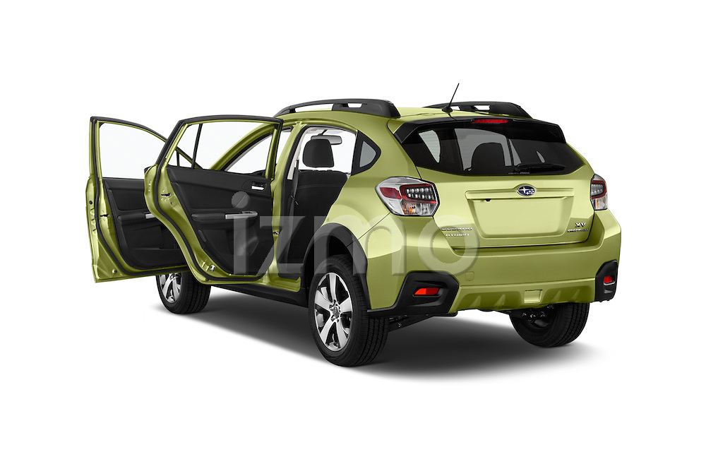 Car images of a 2015 Subaru XV Crosstrek Hybrid 5 Door SUV Doors