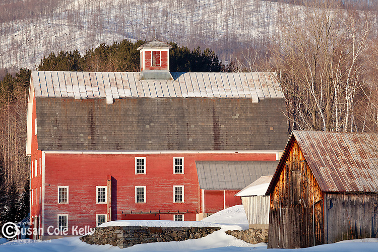 The Robinson Farm in West Woodstock, VT, USA
