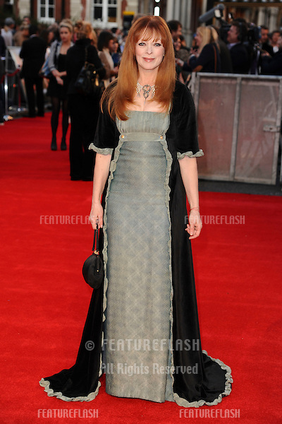 "Frances Fisher arriving for the ""Titanic 3D"" premiere at the Royal Albert Hall, Kensington, London. 27/03/2012 Picture by: Steve Vas / Featureflash"
