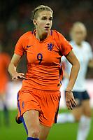 GRONINGEN -  Voetbal, Nederland - Noorwegen, Noordlease stadion, WK kwalificatie vrouwen, 24-10-2017,    Nederland speelster Vivianne Miedema