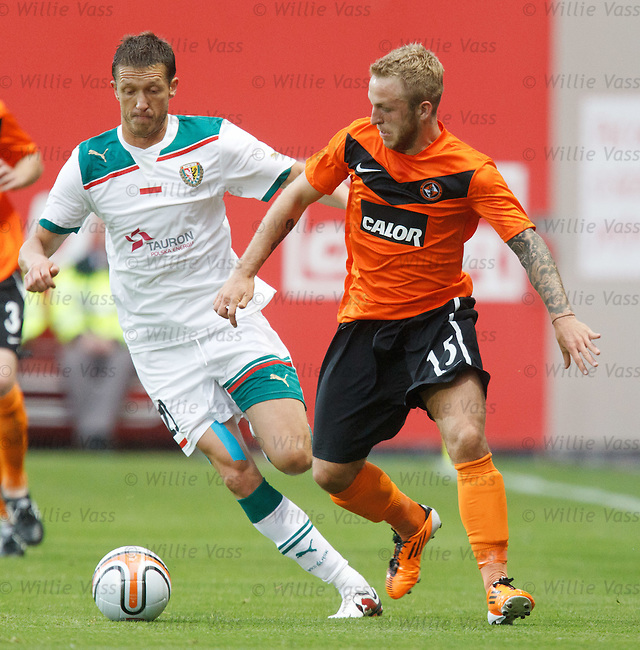 Rok Elsner and Johnny Russell