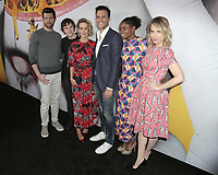 "LOS ANGELES - APR 6:  Billy EIchner, Evan Peters, Sarah Paulson, Cheyenne Jackson, Adina Porter, Leslie Grossman at the ""American Horror Story: Cult"" For Your Consideration EVENT on the Writer's Guild Theater on April 6, 2018 in Beverly Hills, CA"