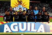 MANIZALES-COLOMBIA, 11-02-2019: Los jugadores de Cúcuta Deportivo, posan para una foto antes de partido de la fecha 4 entre Once Caldas y Cúcuta Deportivo, por la Liga de Aguila I 2019 en el estadio Palogrande en la ciudad de Manizales. / The players of Cucuta Deportivo, pose for a photo prior a match of the 4th date between Once Caldas and Cucuta Deportivo, for the Liga de Aguila I 2019 at the Palogrande stadium in Manizales city. Photo: VizzorImage  / Santiago Osorio / Cont.
