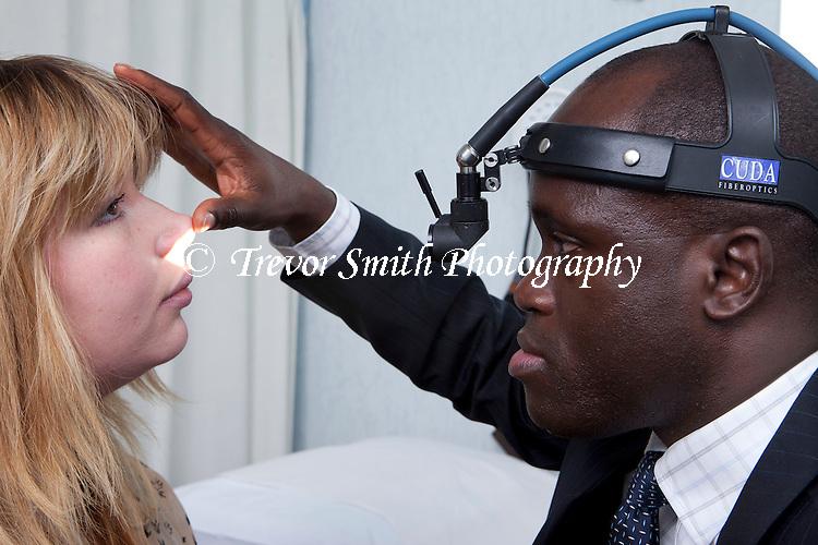 Consultant ENT Head & Neck Surgeon nasal passage examination