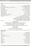 Program & Credits for the Curtain Call for the Arena Stage Production of 'My Fair Lady' at the Mead Center in Washington, D.C. on November 30, 2012.
