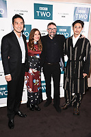 "Yosuke Kubozuka, Kelly MacDonald, Charlie Creed-Miles and Takehiro Hira<br /> arriving for the"" GIRI/HAJI"" screening at the Curzon Bloomsbury, London<br /> <br /> ©Ash Knotek  D3521 25/09/2019"