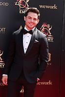 LOS ANGELES - MAY 5:  Zack Tinker at the 2019  Daytime Emmy Awards at Pasadena Convention Center on May 5, 2019 in Pasadena, CA
