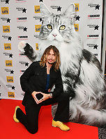 Justin Hawkins<br /> Cats Protection's National Cat Awards, held by the Cats Protection celebrating feline tales of courage, promote benefits of cat adoption. The Savoy Hotel, London, England on August 02, 2018.<br /> CAP/JOR<br /> &copy;JOR/Capital Pictures
