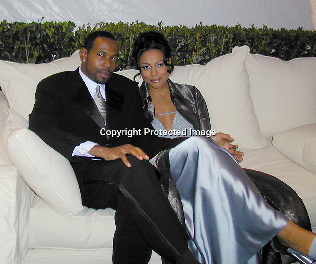 Lela Rochon &amp; Husband<br />
