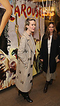 Sarah Paulson and Amanda Peet attends the press reception for the Opening Night of the Lincoln Center Theater Production of 'The Babylon Line'  at the Mitzi E. Newhouse Theatre on December 5, 2016 in New York City.