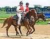outriders at Delaware Park on 7/15/17