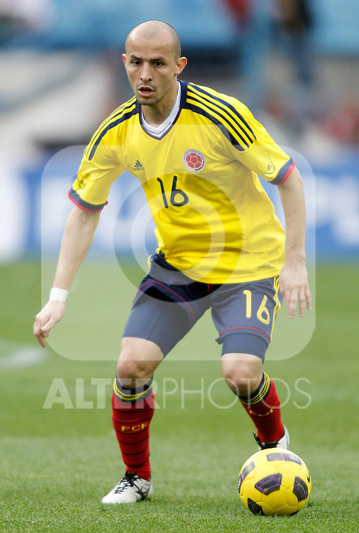 Colombia's national team Elkin Soto during international friendly. March 26, 2011. (ALTERPHOTOS/Alvaro Hernandez)
