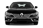 Car photography straight front view of a 2016 Renault Talisman Intens 4 Door Sedan Front View