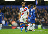 9th November 2019; Stamford Bridge, London, England; English Premier League Football, Chelsea versus Crystal Palace; Andros Townsend of Crystal Palace - Strictly Editorial Use Only. No use with unauthorized audio, video, data, fixture lists, club/league logos or 'live' services. Online in-match use limited to 120 images, no video emulation. No use in betting, games or single club/league/player publications