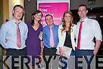 ATTENDED: Enjoying the Kerry Rose selection in Ballyroe Heights Hotel, Tralee on Friday evening l-r: Peter and Louise Gregan and Patrick O'Regan (Ballyheigue),Miriam and Kenneth Ryall (Abbeydorney).