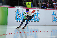 SPEED SKATING: HAMAR: Vikingskipet, 05-03-2017, ISU World Championship Allround, 1500m Men, Andrea Giovannini (ITA), ©photo Martin de Jong