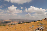 Samaria, a view east of Mount Ebal