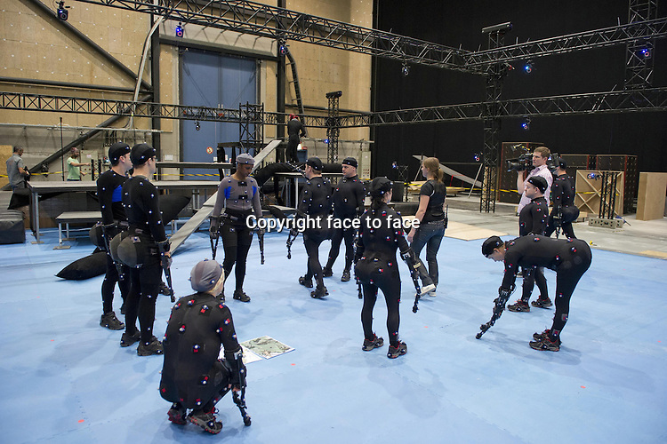 Tarzan - Motion Capture Set in TARZAN 3D...- Editorial Use Only -..Supplied by face to face