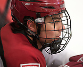 Marshall Everson (Harvard - 21) - The Harvard University Crimson defeated the Colgate University Raiders 4-1 (EN) on Friday, February 15, 2013, at the Bright Hockey Center in Cambridge, Massachusetts.