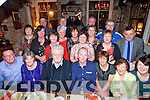 LEAVING DO: John O'Connor, Fairway Heights, Tralee, who is leaving the Dept. of Social Protection in Tralee and taking up a position in the Limerick Dept., was celebrating with colleagues on Friday night in the Stone House, Tralee.