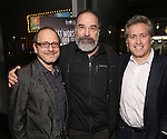 Lonny Price, Mandy Patinkin and Bruce David Klein attends 'Best Worst Thing That Ever Could Have Happened' broadway screening at SAG-AFTRA on November 13, 2016 in New York City.