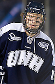 Casey Thrush (UNH - 19) - The University of Maine Black Bears defeated the University of New Hampshire Wildcats 5-4 in overtime on Saturday, January 7, 2012, at Fenway Park in Boston, Massachusetts.