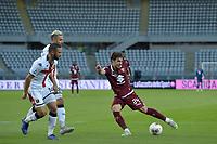 16th July 2020; Olympic Grande Torino Stadium, Turin, Piedmont, Italy; Serie A Football, Torino versus Genoa; Simone Verdi of Torino FC has a shot at goal