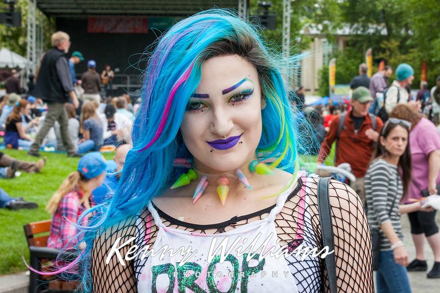 Northwest Folklife Festival, Seattle, WA, USA.