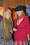 Brooke and Tori Baker Killarney having fun at the Killarney Rotary club wine and art evening in the Malton Hotel on Thursday evening....