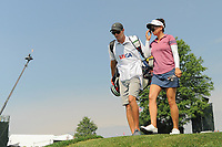 Brianna Do (USA) departs the 16th tee during Thursday's first round of the 72nd U.S. Women's Open Championship, at Trump National Golf Club, Bedminster, New Jersey. 7/13/2017.<br /> Picture: Golffile | Ken Murray<br /> <br /> <br /> All photo usage must carry mandatory copyright credit (&copy; Golffile | Ken Murray)