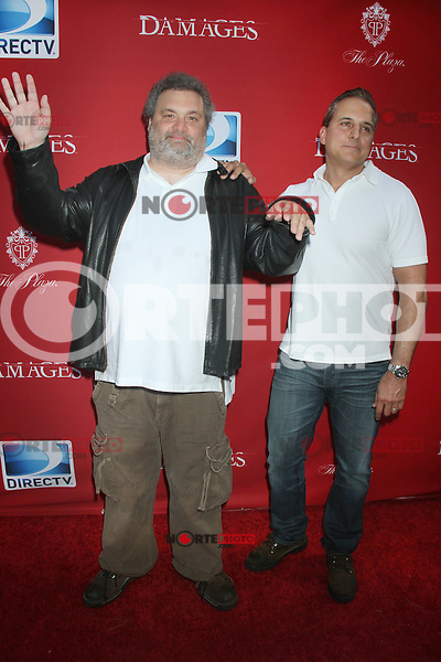 June 28, 2012 Artie Lange and Nick DiPalo at the 'Damages' Season 5 Premiere at The Paris Theatre on June 28, 2012 in New York City. © RW/MediaPunch Inc. /*NORTEPHOTO.COM*<br />
