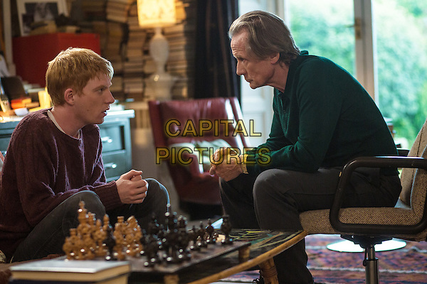 Domhnall Gleeson, Bill Nighy<br /> in About Time (2013) <br /> *Filmstill - Editorial Use Only*<br /> CAP/FB<br /> Image supplied by Capital Pictures