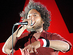 Zack de la Rocha of Rage Against the Machine performing at the Oxegen Music Festival 2008 Punchestown County kildare Republic of Ireland. Photo: Colin Bell/NEWSFILE
