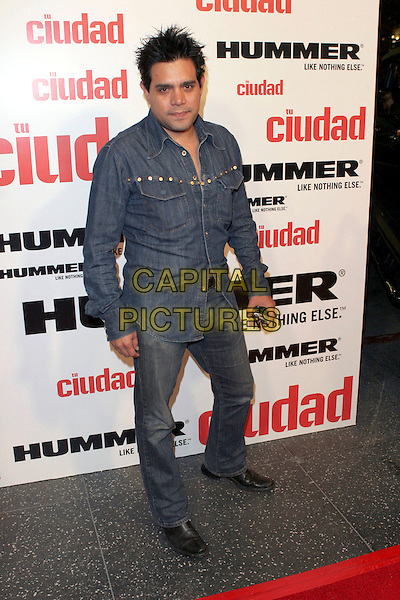 "RAUL JULIA-LEVY.""Tu Ciudad"" Magazine Launch Party held at the Roosevelt Hotel, Hollywood, California, USA,.24th May 2005..full length.Ref: ADM.www.capitalpictures.com.sales@capitalpictures.com.©Zach Lipp/AdMedia/Capital Pictures."