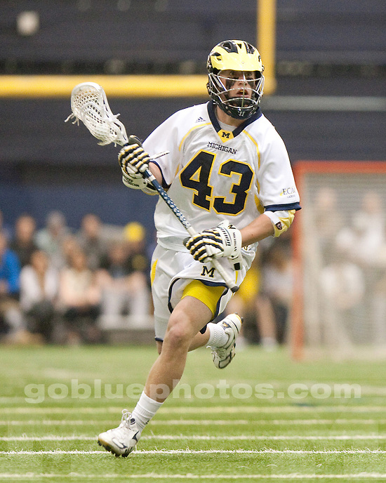 The University of Michigan men's lacrosse team lost to No. 9 Loyola (Md.) 15-8, at Oosterbaan Field House in Ann Arbor, Mich., on March 7, 2012.