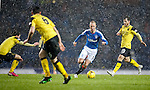 Kenny Miller on the attack