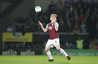 Burnley's Ben Mee<br /> <br /> Photographer Mick Walker/CameraSport<br /> <br /> The Carabao Cup Round Three   - Burton Albion  v Burnley - Tuesday  25 September 2018 - Pirelli Stadium - Buron On Trent<br /> <br /> World Copyright &copy; 2018 CameraSport. All rights reserved. 43 Linden Ave. Countesthorpe. Leicester. England. LE8 5PG - Tel: +44 (0) 116 277 4147 - admin@camerasport.com - www.camerasport.com